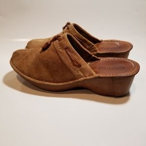 SPERRY WOMANS LEATHER MULE SIZE 9M